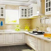 厨房白色田园装饰