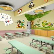 幼儿园教室装潢展示