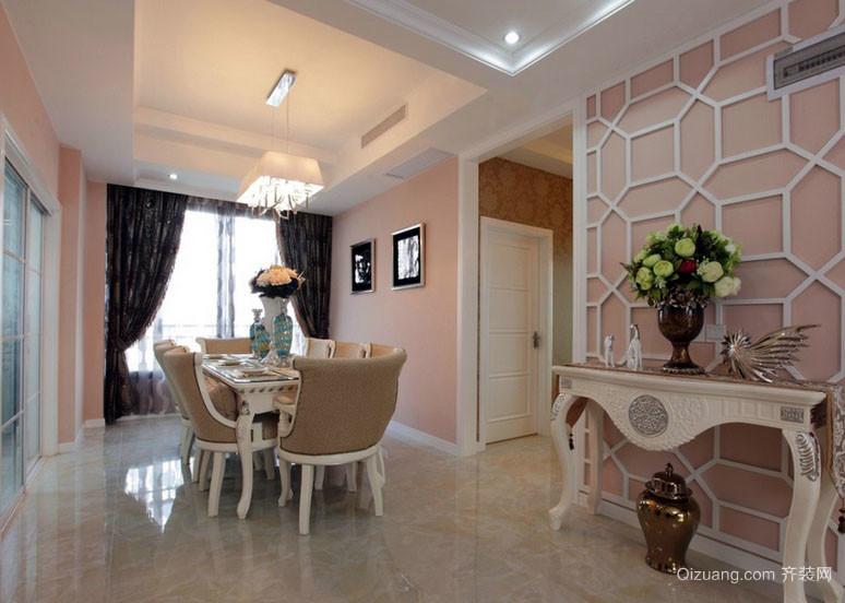 现代美式风格大卧室吊顶设计装修效果图 齐装网装修效果图