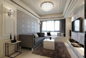 精致70平米单身公寓客厅装修效果图