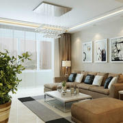 素雅新房客厅设计