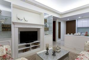 魅力四射:田园欧式90平米家居装修图