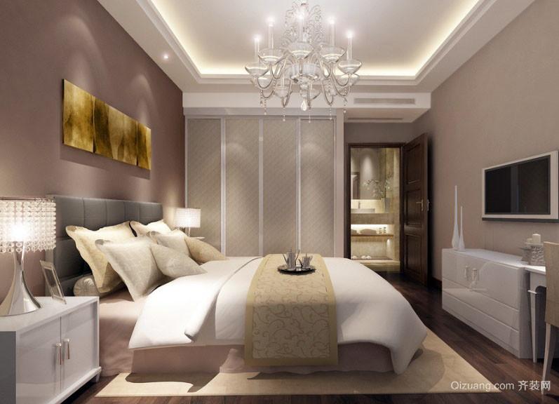 宜家简约25平米卧室室内设计效果图大全