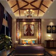 别墅古典卧室图片