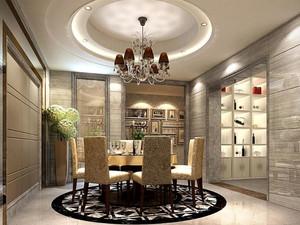完美时尚:后现代家居餐厅装修设计图