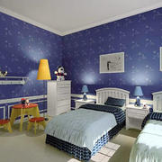 儿童房卧室壁纸展示