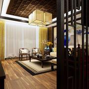 中式客厅吊灯展示