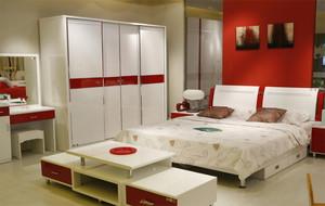2016大户型经典设计全友家私欧式卧室装修效果图