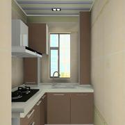 都市小户型3平米厨房橱柜效果图