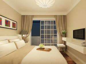 2016三居室高贵精致的简约风格装修效果图