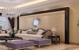 优雅气质型客厅壁纸
