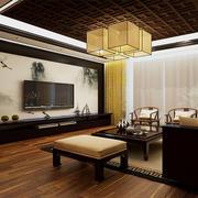 中式客厅别致设计