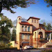 优雅的别墅模型设计
