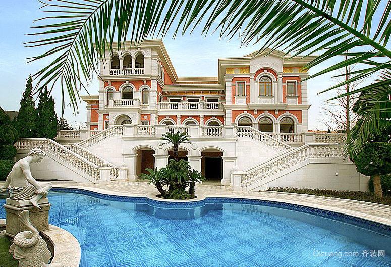 别墅游泳池欣赏