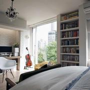 现代卧室飘窗设计