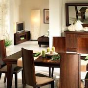 餐厅精致餐桌椅家具