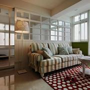 客厅舒适沙发装修图片