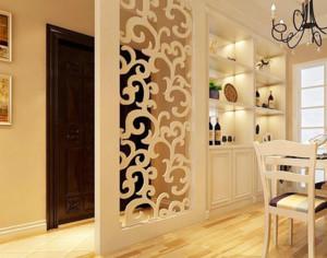 2016别墅型家庭装修设计隔断装修效果图