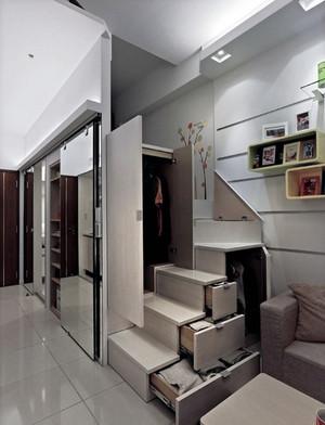 豪华大气的现代上海单身公寓装修效果图鉴赏