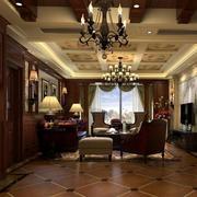 有格调的大客厅家具