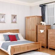 卧室原木色家具欣赏