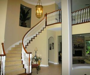 2016精致的现代时尚家居楼梯装修效果图
