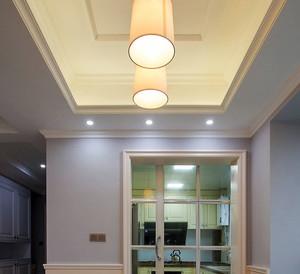 简约美式108平米两居室装修风格样板房