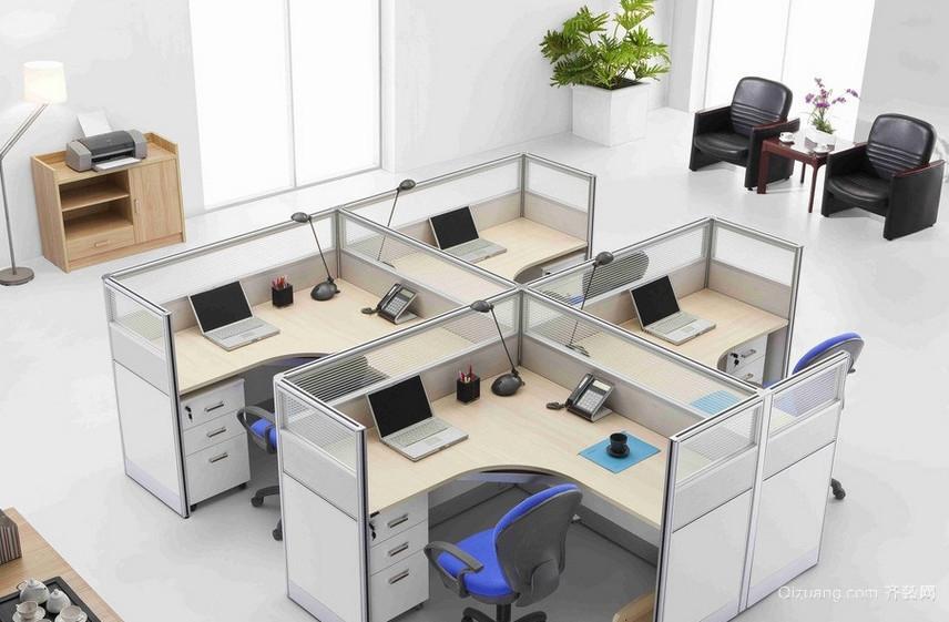 现代都市精致的办公室吊顶装修效果图鉴赏