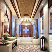 别墅豪华浴室展示