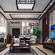 完美沙发背景墙
