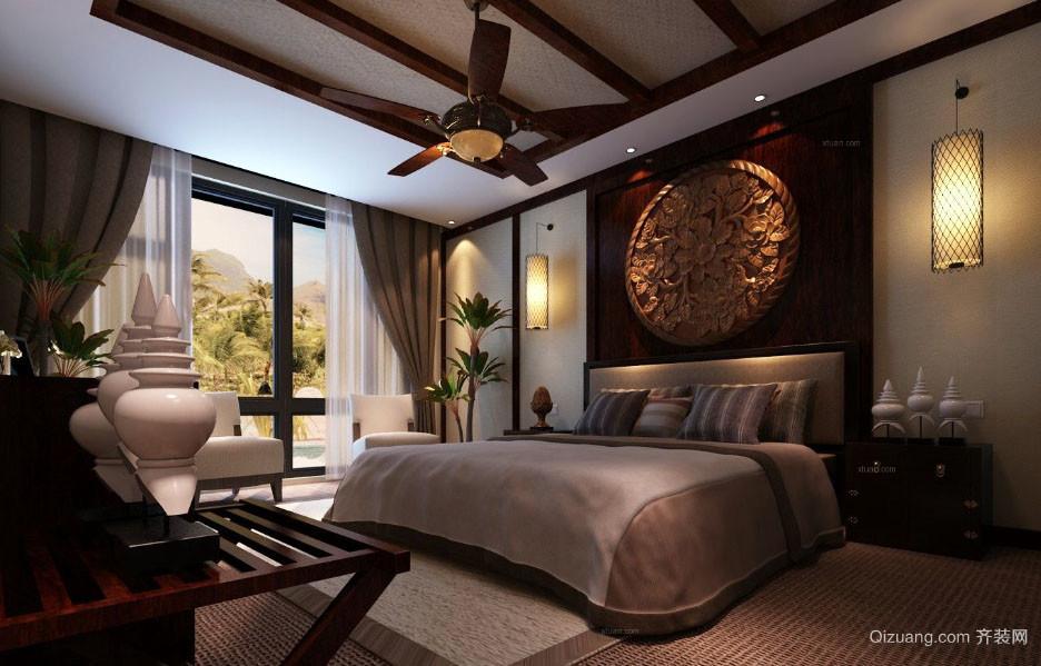 异域风情:东南亚风格大型独栋别墅效果图