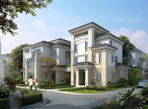都市400平米独栋别墅效果图