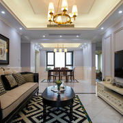 美式家居客厅欣赏