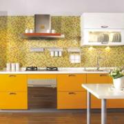 90平米大户型精致欧式厨房橱柜装修效果图