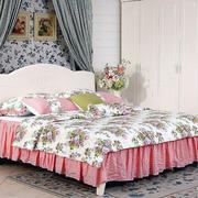 现代卧室床铺设计