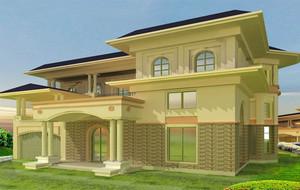 唯美的房屋设计图