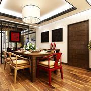 中式生态木地板欣赏