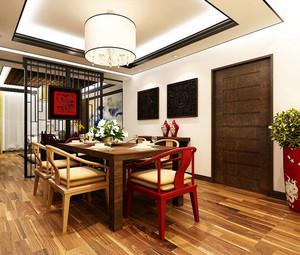 温馨中式小别墅家居装修效果图