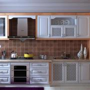 2016朴素两室一厅厨房橱柜效果图