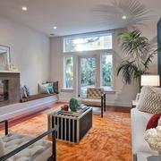一居室房屋宜家温馨客厅装修设计图