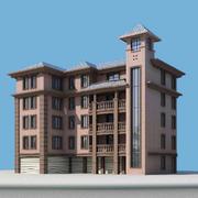 2016经典独特的现代大户型楼房设计效果图