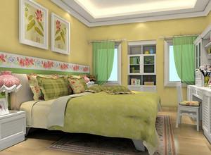 时尚可人:韩式22平米卧室装修效果图