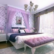 浪漫的卧室设计模板