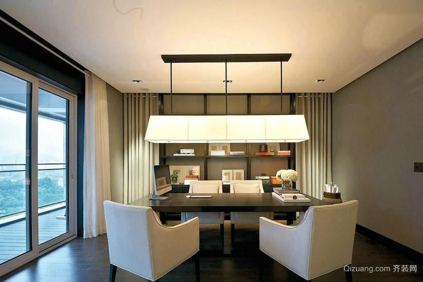 2016大户型房屋简约书房装修设计图