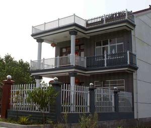 精美的现代大户型阳台护栏装修效果图鉴赏