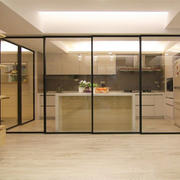 唯美玻璃门设计