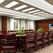 会议室红木会议桌展示