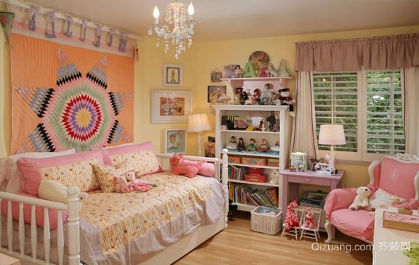 完美无瑕:精致小公主儿童房装修效果图