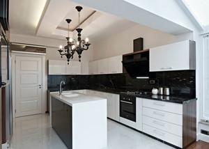2016两室一厅现代厨房吊顶设计效果图