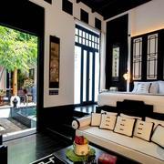 别墅客厅独特设计